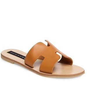 Steven by Steve Madden Greece Sandals Cognac
